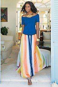 Globetrotter Maxi Skirt