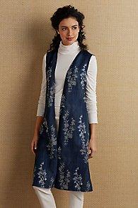 Blue Belle Vest