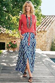 Java Maxi Skirt