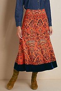 Baroque Border Skirt