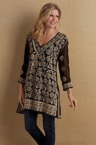 Hadlee Embroidered Tunic & Cami