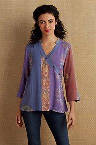 Batik Surplice Tunic