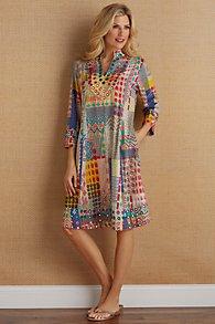 Summerfest Silk Dress