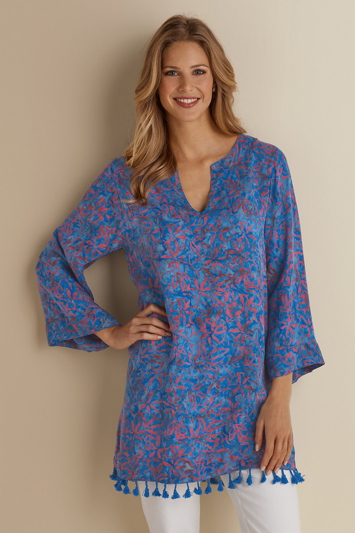 Belle Batik Tunic