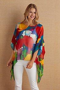 Silk Colours Tunic