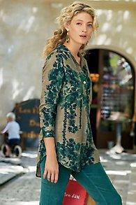 Verdure Textured Pullover