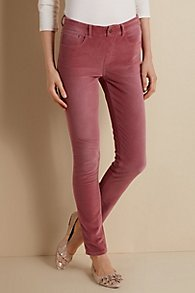 Velvet 5 Pocket Pull On Leggings