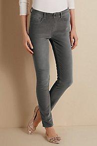 Velvet 5 Pocket Pull On Leggings