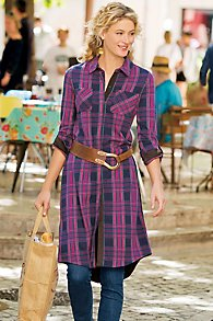 Maggie Snap-Button Dress