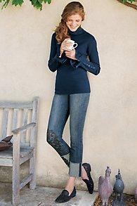 Nicola Appliqué Jeans