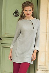 Maru Button Pullover