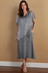 Layered Look Dress