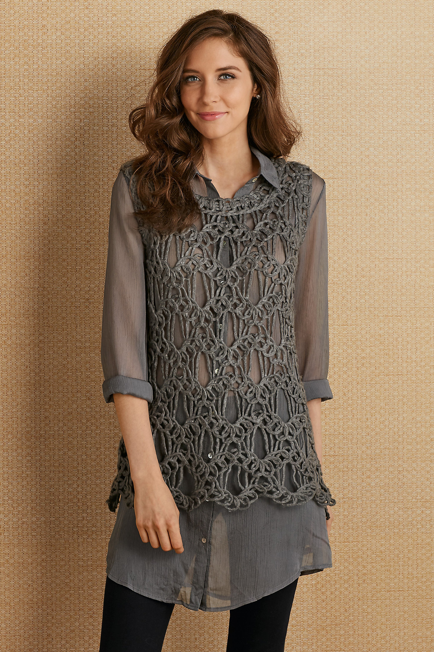 Adelise Shirt & Sweater