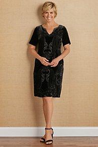 Venetian Velvet Dress