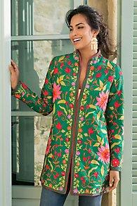 Floral Embroidered Jacket