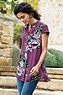 Bouquet Of Roses Tunic Photo