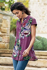 Bouquet of Roses Tunic