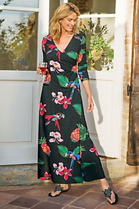 Wear Anywhere Tropical Dress