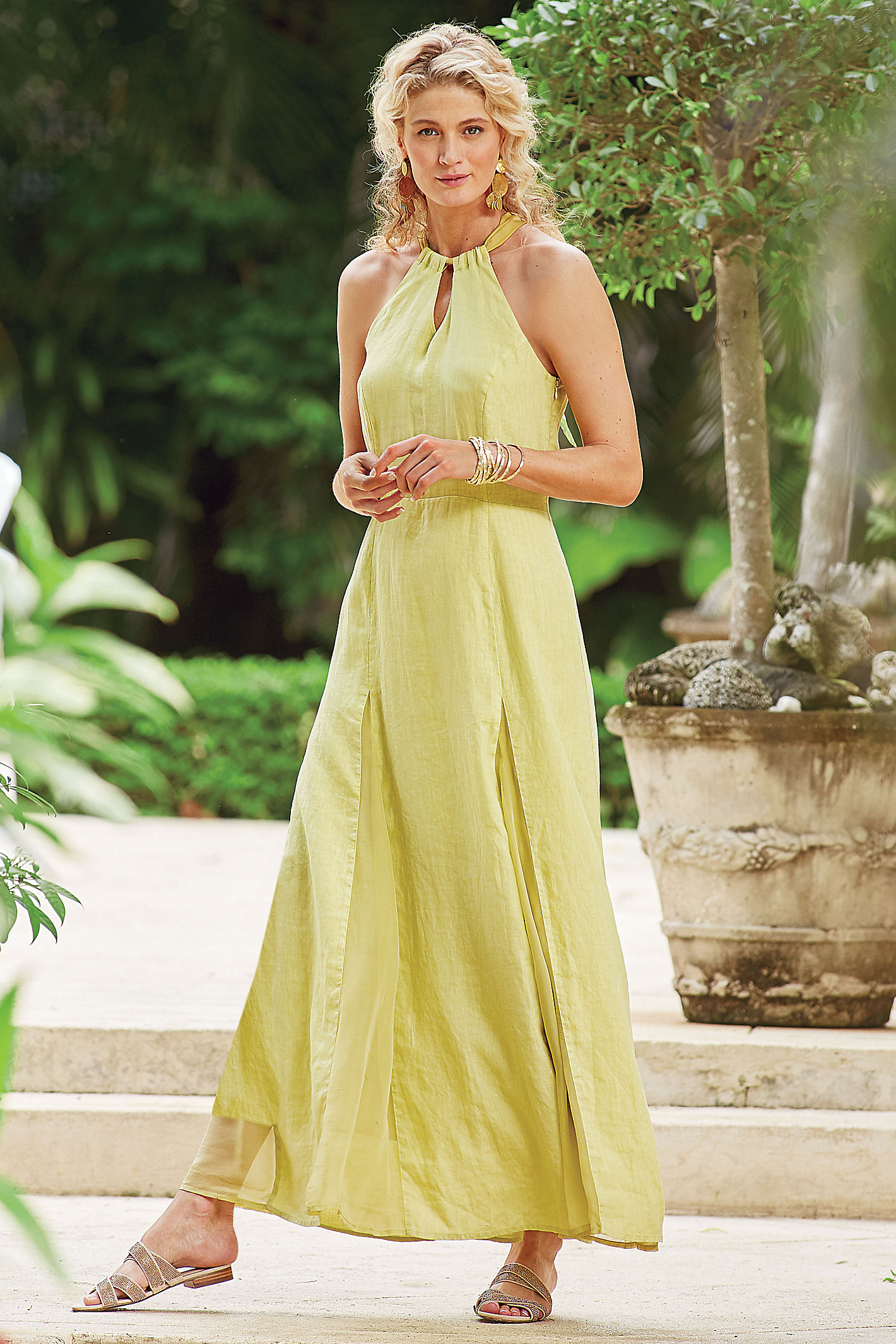 Allegory Linen Dress