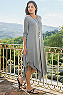 Women Alexandra 3/4 Sleeve Dress Photo