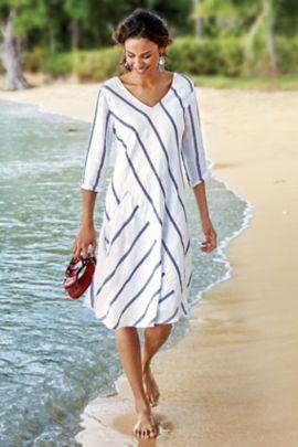 Linen Beachy Dress