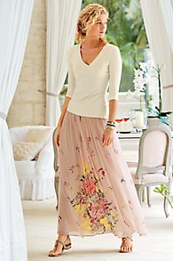 Summer Blooms Skirt
