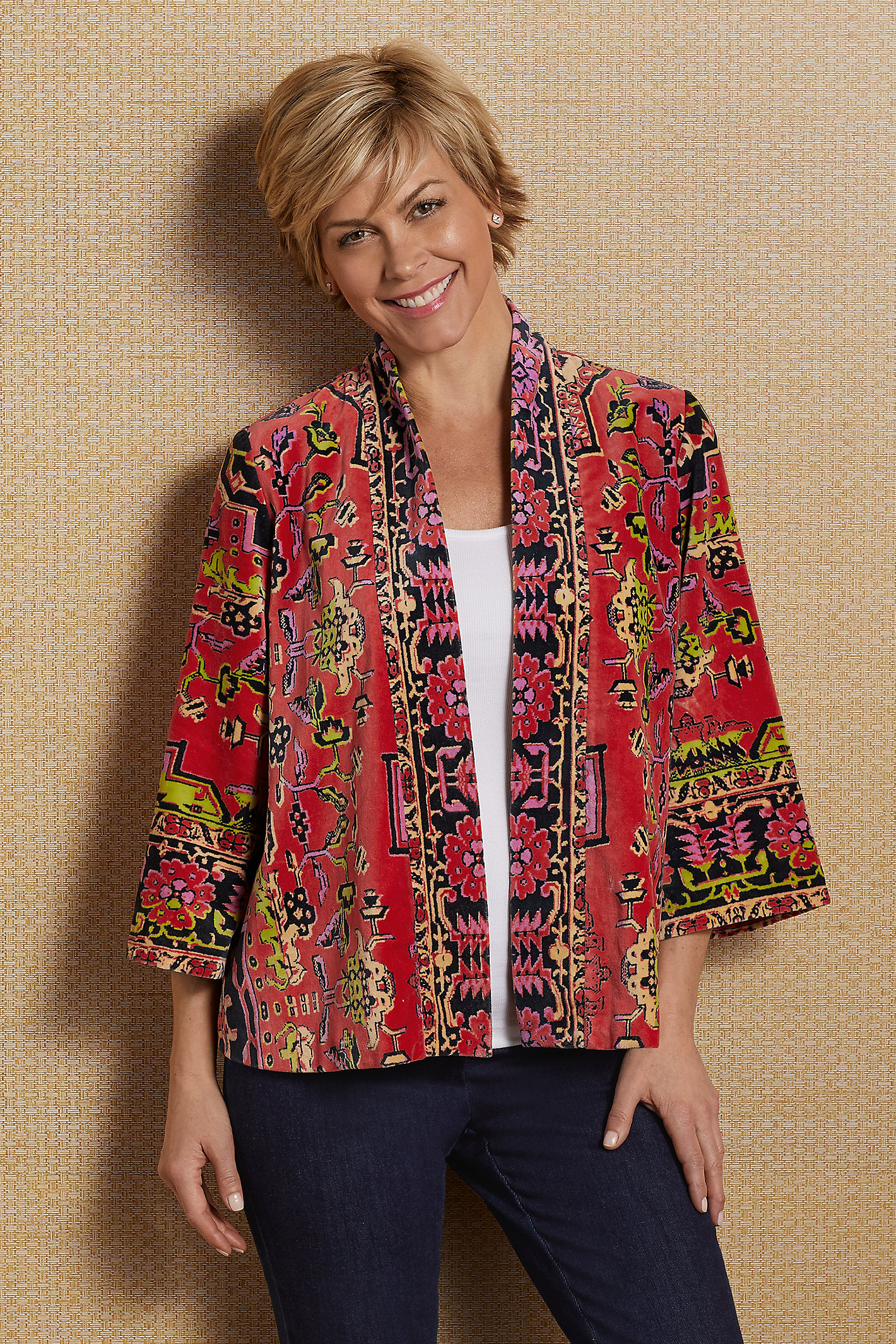 Vera Velvet Jacket