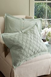 Diamond Quilted Bed Sham
