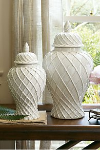 Lattice Ginger Jars