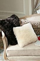 Luxury Shearling Pillow