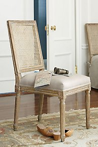 Louis Cane Back Side Chair