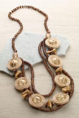 Straw Necklace