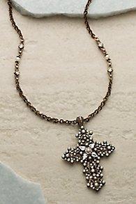 Swarovski Crystal Cross Necklace