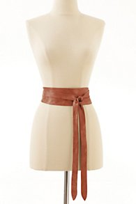 Leather Obi Belt