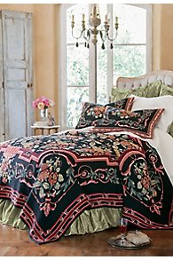 Cabbage Rose Coverlet