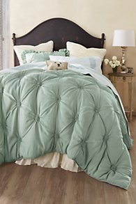 Lombardi Smocked Coverlet