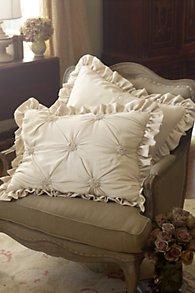 Lombardi Smocked Bed Sham