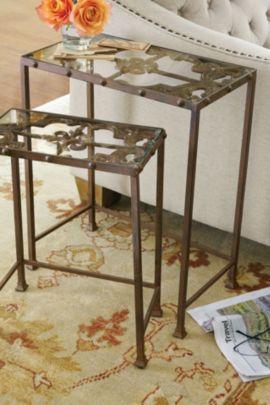 Avalon Iron Nesting Tables
