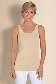 Seamless Knit Tank Top