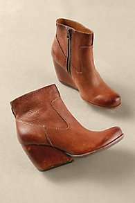 Kork-Ease Wedge Booties