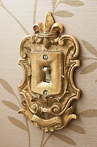 Fleuri Traditional Light Switch Plates