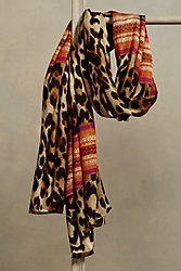 Leopard Scarf I