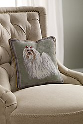 Maltese Aubusson Pillow