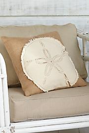 Sand_Dollar_Burlap_Pillow