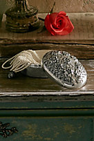 Daisy Silver Box