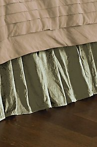 Silk Provencal Bedskirt