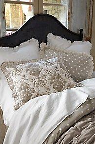 Toile et Pois Bed Sham