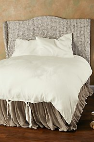 Vintage Washed Linen Duvet Cover