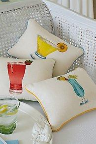 Cocktail Pillow