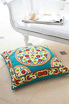 Karma Crewel Floor Cushion